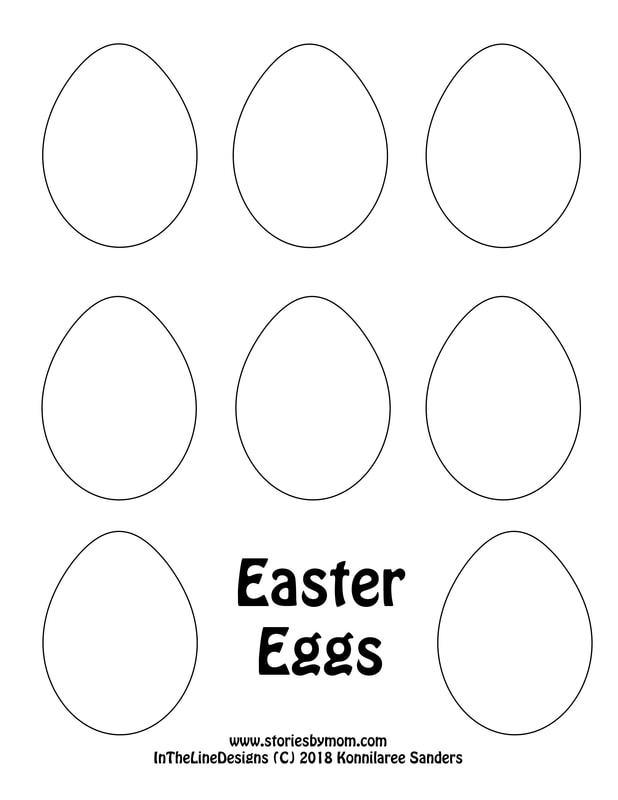 #easter #eggs #coloringpage  #kidstuff #storiesbymom #papercraft