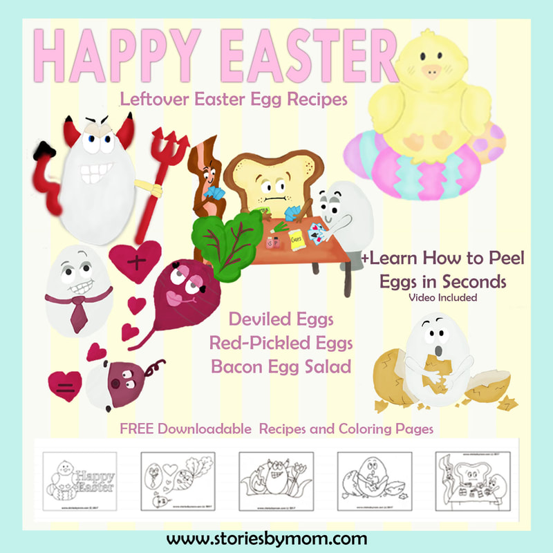 #easter #eggs #coloringpages #recipes #diy