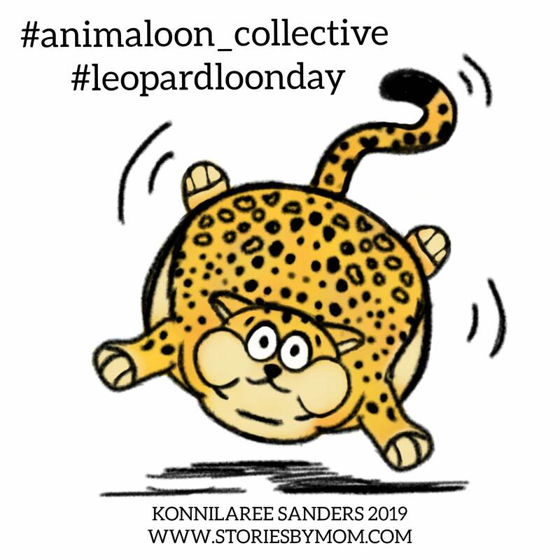 animaloon_collective #lepoardloomday #leopard #wild #animals #illustration #drawing #digitalart #kidart #balloon $storiesbymom #colorigpage