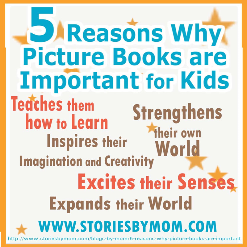 5 Reason Children Should Read Children's Book #reading #kidlit #childrensbook #picturebookmonth #storiesbymom