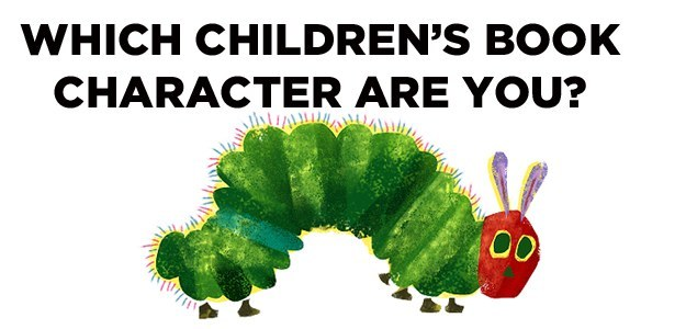 Which Children's Book Character Are You? www.storiesbymom.com