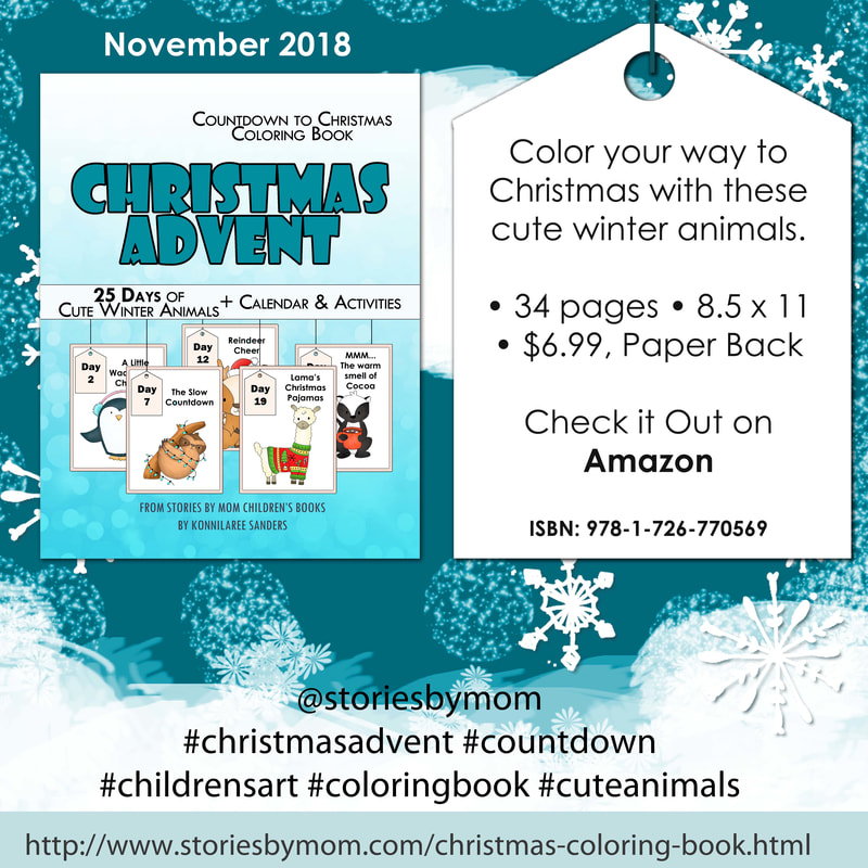 #christmas #holiday #animals #cute #coloringbook #advent #countdown #kidstuff #storiesbymom #winter