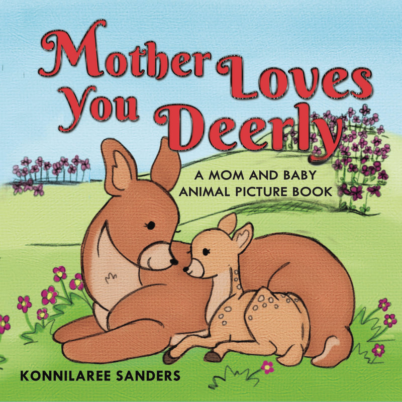mother loves you deerly animal children's book by stories by mom