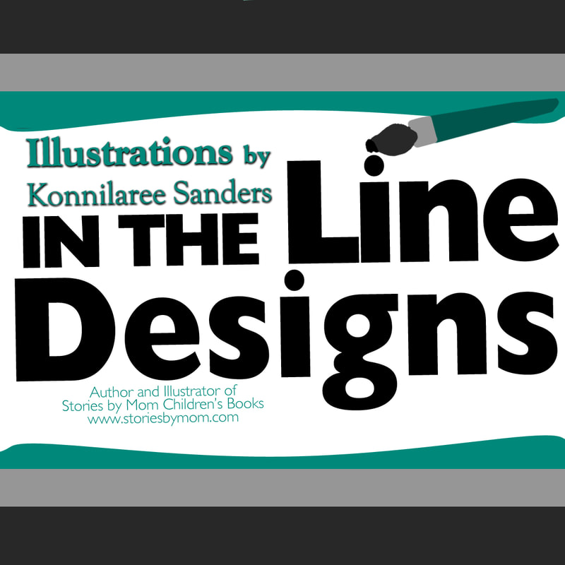 In The Line Designs Original Illustrations for Purchase