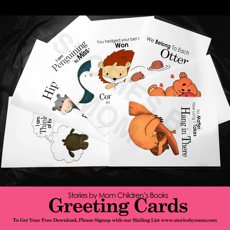 Stories by Mom Greeting Cards Free when you sign up for our mailing list